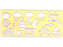 7b40ca1e67 Wiler instruments - Disegno - grafica - Maschere curvilineee normografi